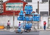 une  citerne à eau en 2020