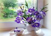 bouquet bleu par hélène