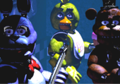 Five night at freddy's...