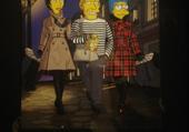 Les Simpson et Jean-Paul Gaultier