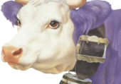 Puzzle vache milka vintage