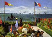 Terrasse à Saint-Adresse de Claude Monet