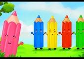 Puzzle crayons de couleurs