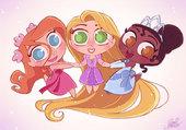 princesses disney en chibies