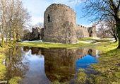 Vieux château en Ecosse