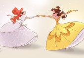 Giselle et Belle
