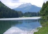 Le lac de Montriond Haute Savoie