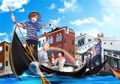 Hetalia - Les gondoles de Venise