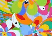 Puzzle peinture abstraite