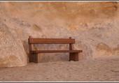 Un banc à Petra