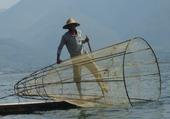 Pêcheur au lac Inlay