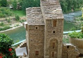 Puzzle village de Peyre