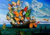 Le vaisseau papillon