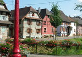 Puzzle Maisons d'Alsace