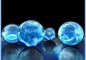Billes bleues