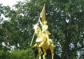 statue équestre de J.Darc à Portland Or