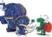 NAB et le tricératops