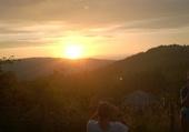 Coucher de soleil près du Moléson