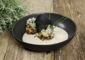 Crème de chou fleur et huître