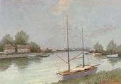 Le canal du Midi Aigues Mortes