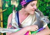 kangourou amoureux