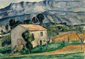 Maison dans le Vaucluse de Cézanne