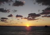 coucher de soleil sur le Cap Frehel