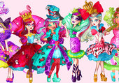 Puzzle Ever After High in Wonderland