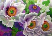 bouquet de fleurs par hélène