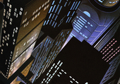 Gotham Animated Art Dark Deco