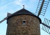 beau nuage sur les ailes du moulin