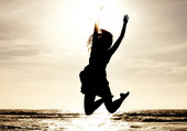 bonheur en bord de mer