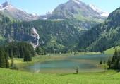 Lac de Lauenen Oberlande Suisse