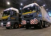 deux jolies camions suisse