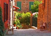 Ruelle en Toscane