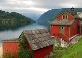 Puzzle Paysage de Norvège