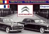 les 15cv Citroën Présidentielles