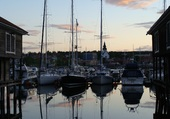 Le port d'Udikval (Suéde)