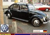 VW Coccinelle Berline Taxi Rometsch