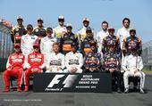 Formula 1 drivers 2015