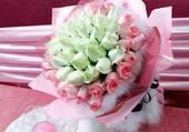 un bouquet pour la mariée