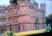 Chateau de Downton Abbey .