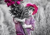 un gros bouquet pour maman
