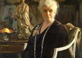 femme en noir-E.C.Tarbell