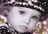 une vraie poupée