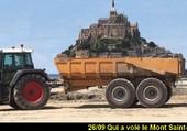 Qui a volé le Mont St-Michel?