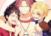 Ace, Luffy et Sabo