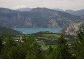 Le lac d'allos..