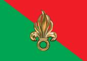 Puzzle Fanion Légion Etrangère