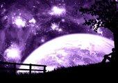 Planète purple